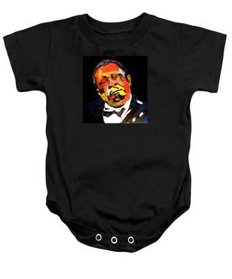 Honoring Bb King Baby Onesie