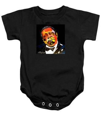 Honoring The King 1925-2015 Baby Onesie