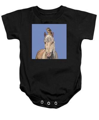 Hortense The Horse Baby Onesie
