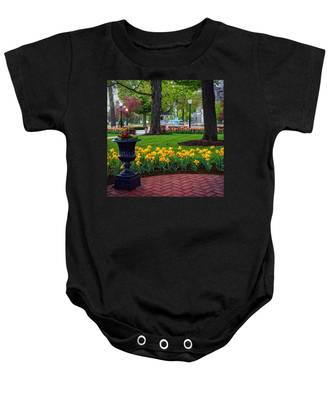 Hudson Falls...a Great Place To Call Home Baby Onesie