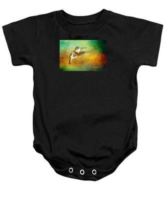 Hummingbird Hover Baby Onesie