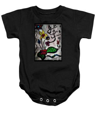 Just Be You Baby Onesie