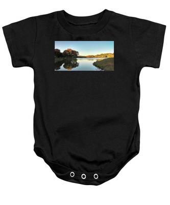 Lake Baby Onesie
