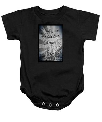 Laughter Is The Best Exercise Baby Onesie
