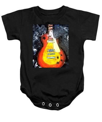 Les Paul Live Baby Onesie