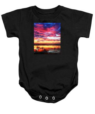 Love Is Real Baby Onesie