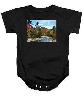 Mad River By Welch And Dickey  Baby Onesie