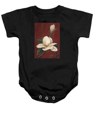 Magnolia I Baby Onesie