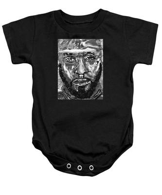 Man Of Steel Baby Onesie