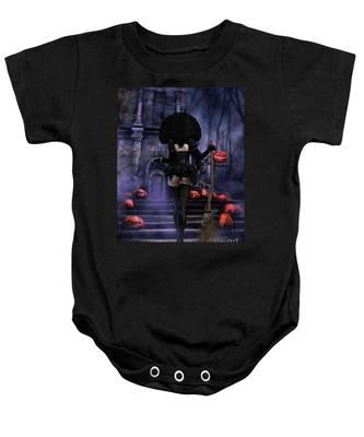Ready Boys Halloween Witch Baby Onesie