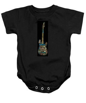 Metal Baby Onesies