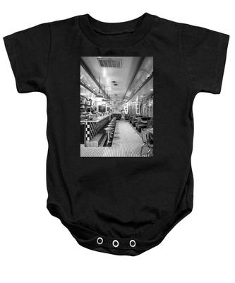 Route 66 Diner  Baby Onesie