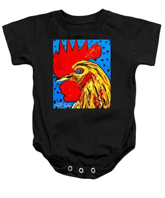 San Antonio Rooster Baby Onesie