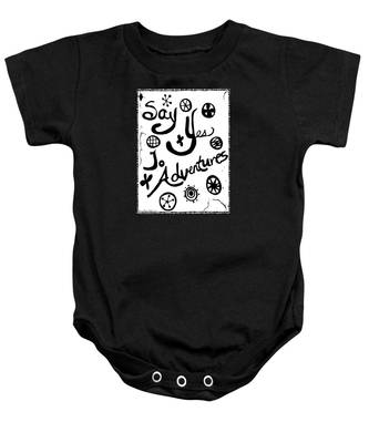 Say Yes To Adventures Baby Onesie