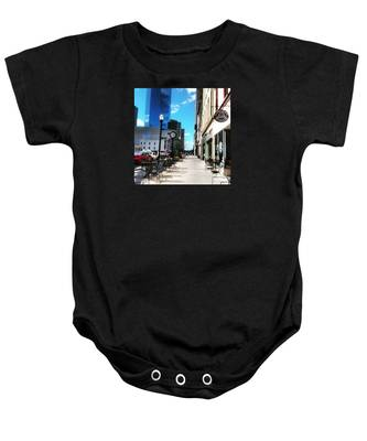 Spring Day In Downtown Lexington, Ky Baby Onesie