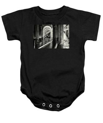 Sunbeam Inside The Church Baby Onesie