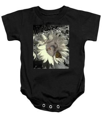 Sunflower Tint Baby Onesie