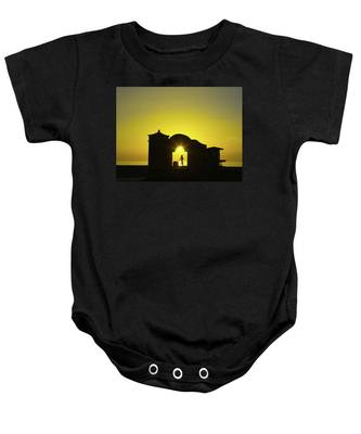 Baby Onesie featuring the photograph Sunrise Hollywood Florida by Dart Humeston