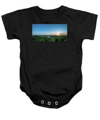 Sunset On The Outer Banks Baby Onesie