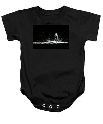 That Falls Like Tears From On High Baby Onesie