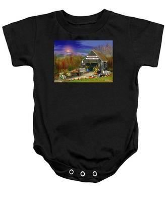 The Campton Farm Baby Onesie