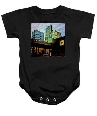 The Highline Nyc Baby Onesie