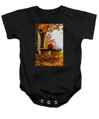 The Last Pumpkin Baby Onesie