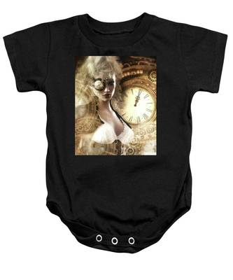 The Time Has Come Baby Onesie