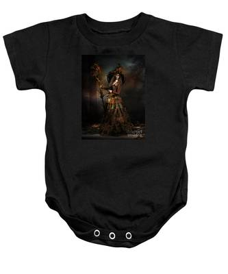 The Wood Witch Baby Onesie