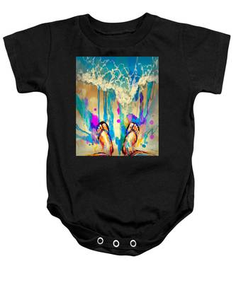 Vacation Time Baby Onesie
