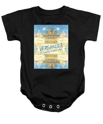 Versailles Is Always A Good Idea Golden Gate Baby Onesie
