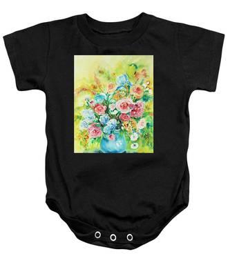 Watercolor Series 120 Baby Onesie