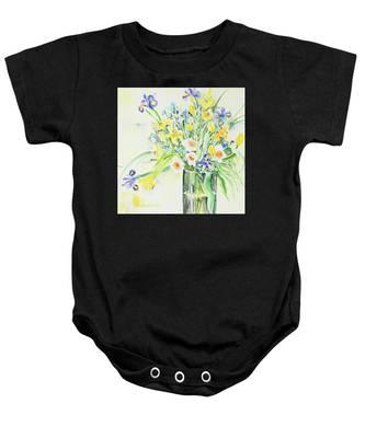 Watercolor Series 143 Baby Onesie
