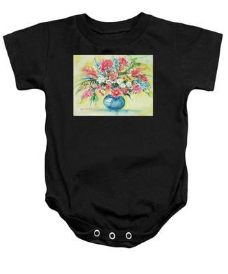 Watercolor Series 58 Baby Onesie