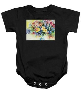 Watercolor Series 62 Baby Onesie