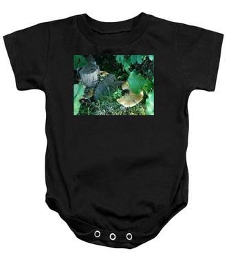 Wild Mushroom Baby Onesie