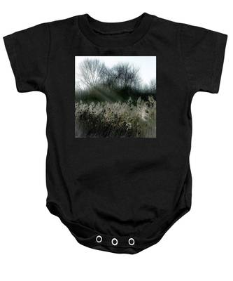 Winter Fringe Baby Onesie