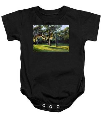 A New Sunset Baby Onesie