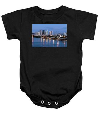 Early Rise Miami Baby Onesie