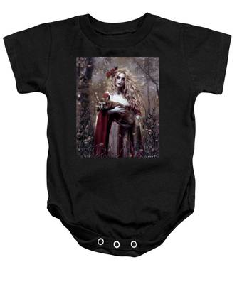 Lady And The Fox Baby Onesie