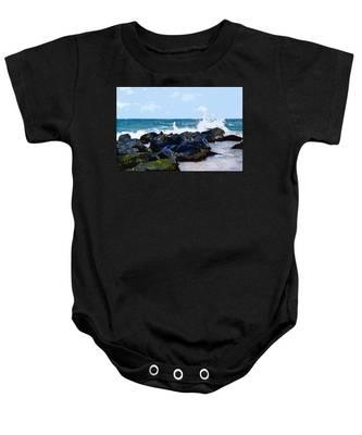 Ocean Meets The Coast Baby Onesie