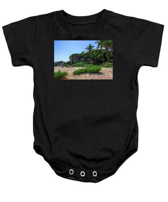 On The Coast Of Tulum Baby Onesie