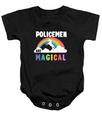 Policemen Are Magical Baby Onesie