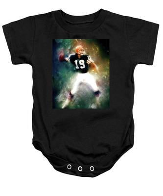 Quarterback Bernie Kosar Baby Onesie