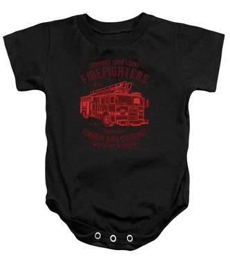 Fireman Baby Onesies