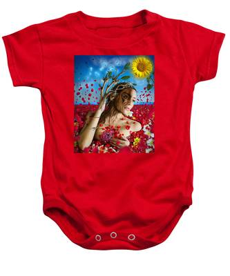 Dafne   Hit In The Physical But Hurt The Soul Baby Onesie