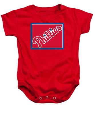 Philadelphia Phillies Baseball Baby Onesie