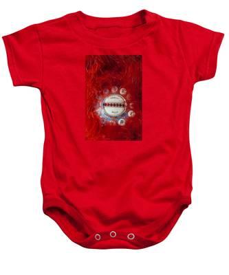 Red Phone For Emergencies Baby Onesie