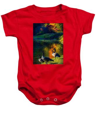 A Place In The Sun Baby Onesie