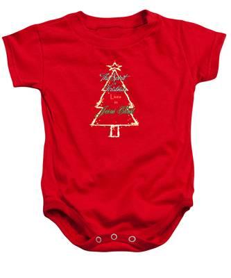 Christmas Spirit Baby Onesie